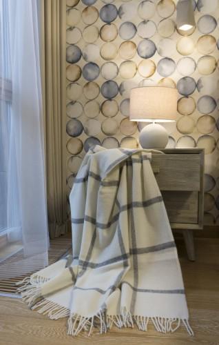 Natural Wool Blanket - Throw