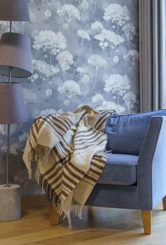 Tartan Warm Wool Blanket -Throw